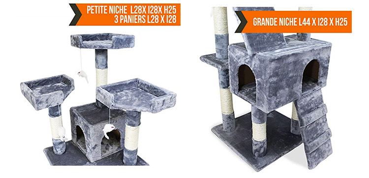 caprice grand arbre chat test complet