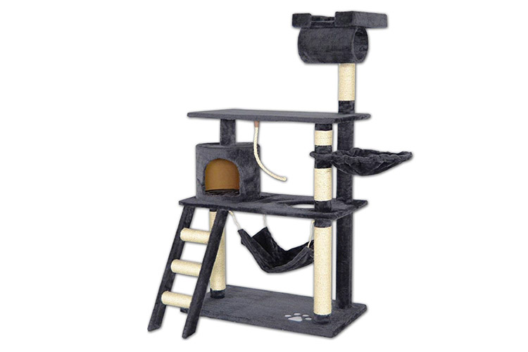 arbre chat dib a griffoir et grattoir test complet. Black Bedroom Furniture Sets. Home Design Ideas